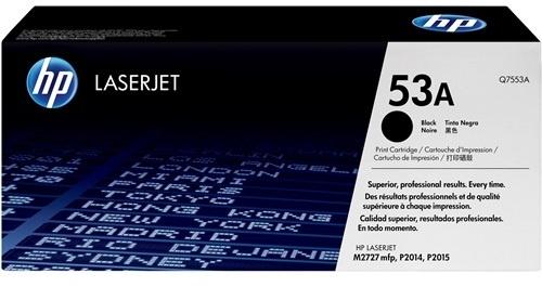 HP Q7553A Black Print Cartridge