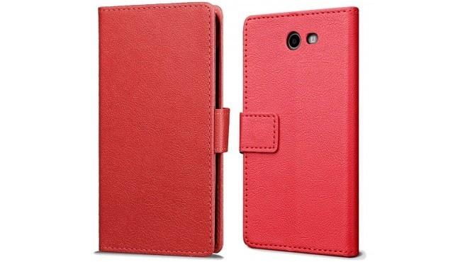qMust Samsung Galaxy J7 (2017) Wallet Hoesje Rood