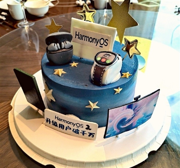 Huawei HarmonyOS 2 taart