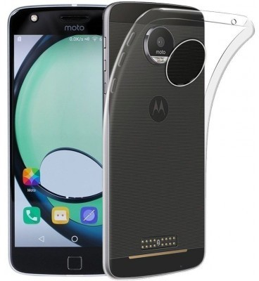 qMust Motorola Moto Z Slimline TPU case - Clear