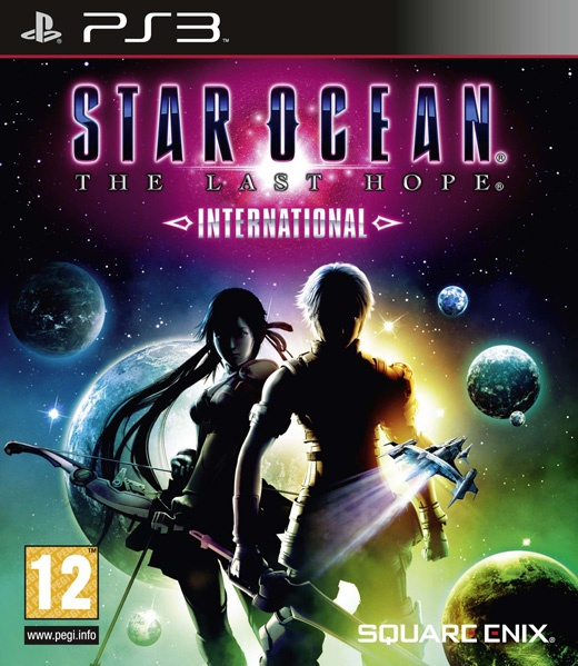 Packshot voor Star Ocean: The Last Hope - International