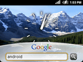 Google Sooner, Android-prototype