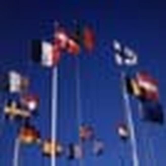 Vlaggen lidstaten Europa