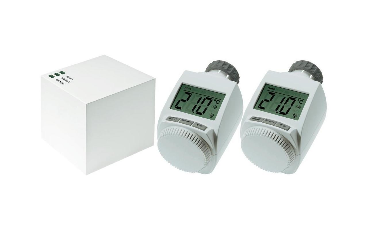 eq 3 max cube lan gateway 2 radiatorthermostaten. Black Bedroom Furniture Sets. Home Design Ideas