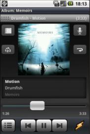 Winamp for Android screenshot