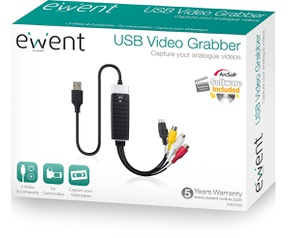 Ewent EW3706 Video Grabber USB 2.0