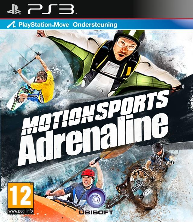 Packshot voor Motionsports Adrenaline