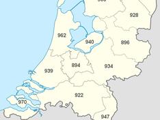 Tweakers PVOutput - Provinciekaart 2016