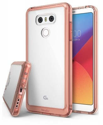 Ringke Fusion LG G6 Case - Rose Gold