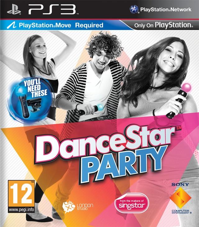 Packshot voor DanceStar Party