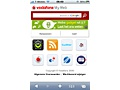 Vodafone MyWeb op iPhone