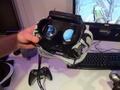 John Carmack toont zijn virtual reality-bril