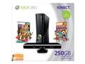 Goedkoopste Microsoft Xbox 360 Slim 250GB + Carnival Games + Kinect bundel Zwart