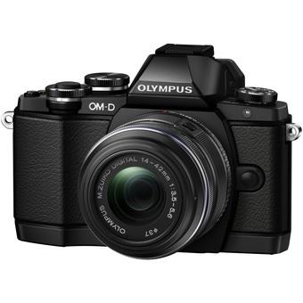 Olympus OM-D E-M10 + M.ZUIKO DIGITAL ED 14-42mm 1:3.5-5.6 II R Zwart