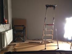 Plafondplaat in aanbouw 3