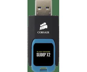 Corsair Flash Voyager Slider X2 16GB Blauw