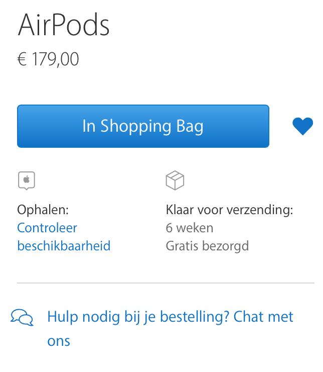 AirPods bestellen
