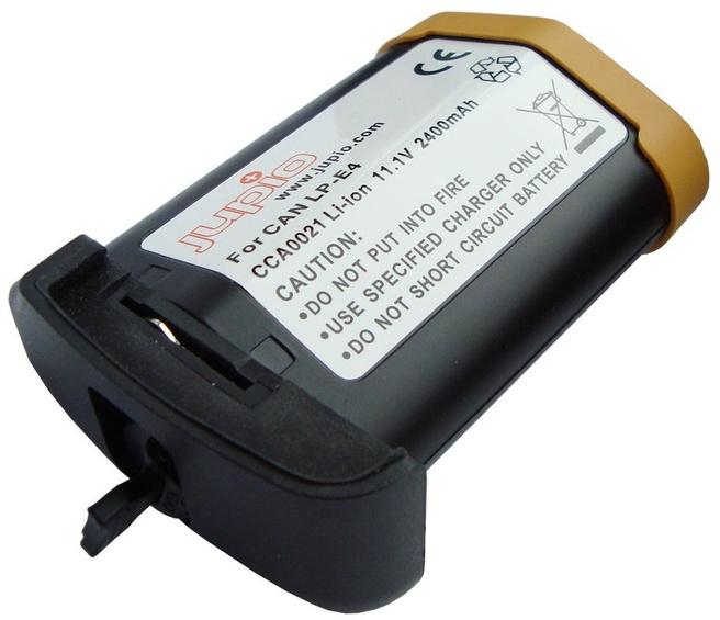 Jupio Camera-Accu voor Canon LP-E4 (2400mAh)