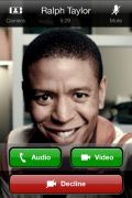 Skype videobellen op iPhone