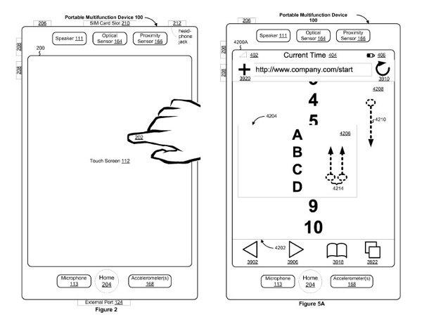Apple touchscreenpatent
