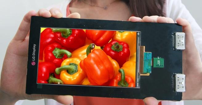 LG Quad HD Paneel