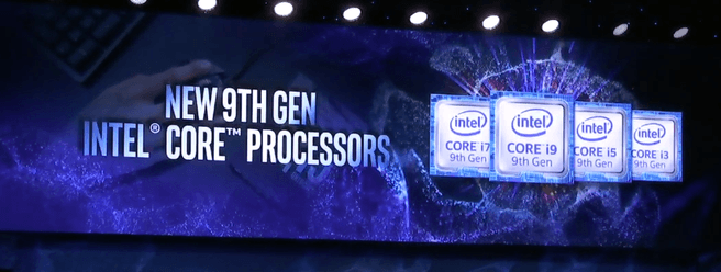 Intel negende generatie Core