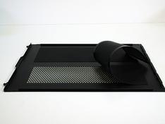 Thermaltake Core X9 zijpaneel met filters