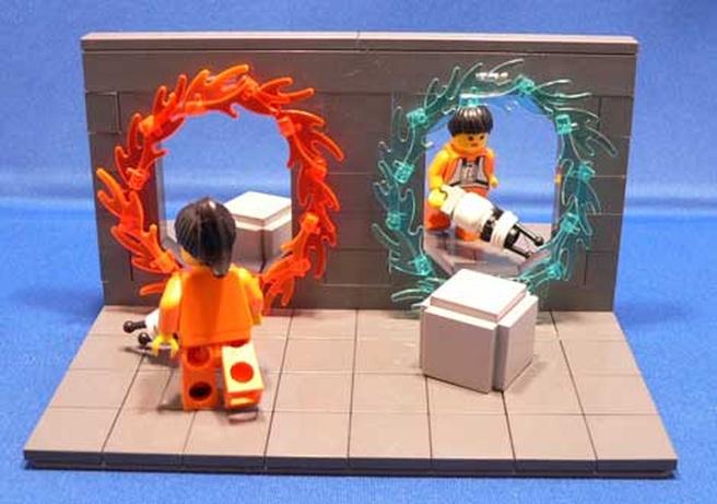 Portal in Lego