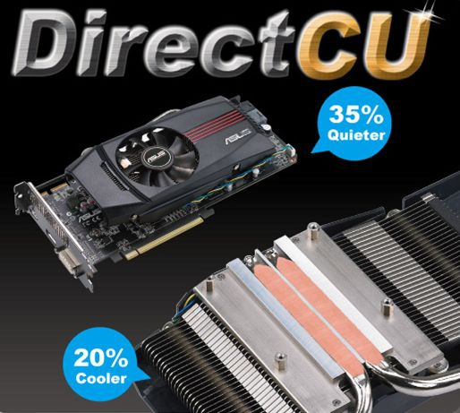 Asus HD 5850 Direct CU