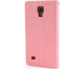 Mercury Fancy Diary WalletCase - Samsung Galaxy S4 Mini - Roze Roze