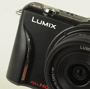 Panasonic Lumix GF2 grip rechts