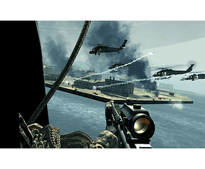 Call of Duty 4: Modern Warfare (8800GTX, all high, � Aap) - helikopter squadron