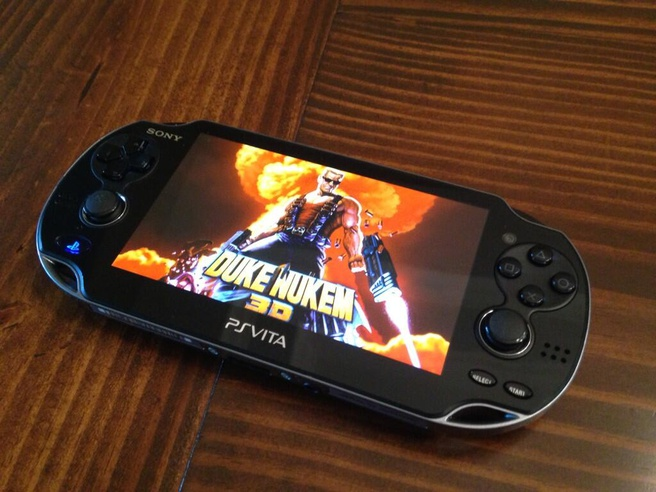Duke Nukem 3D: Megaton Edition op PS Vita