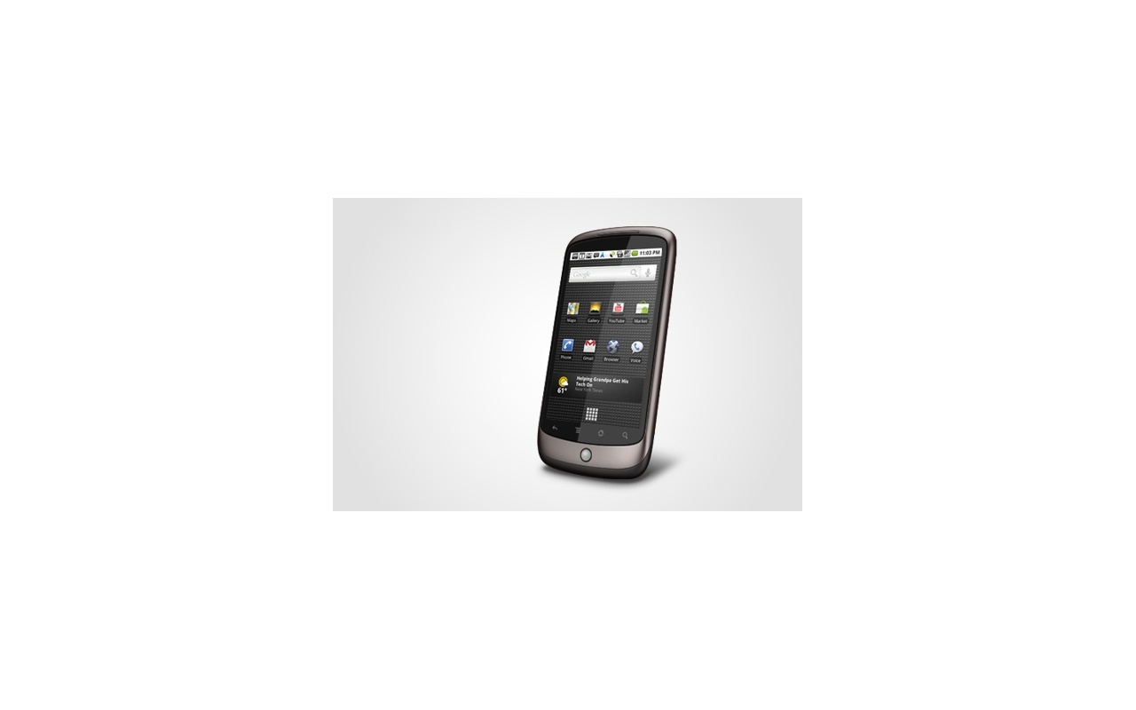 Google Nexus One (US) Grijs