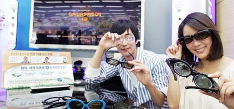 Samsung 3d-bril op sterkte