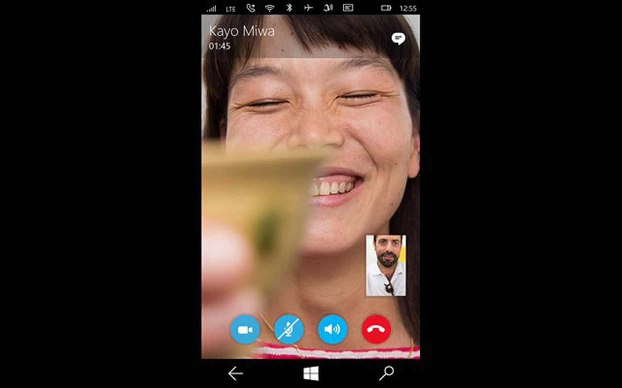 Screenshots Messaging Skype Beta