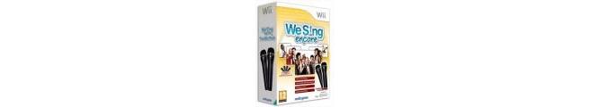 We Sing: Encore (inc 2 microfoons), Wii