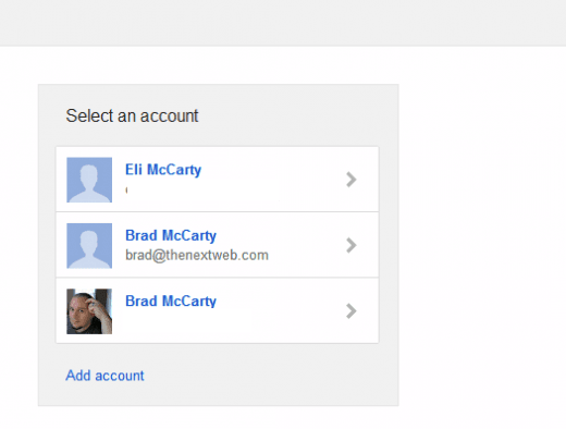 Google - meerdere accounts