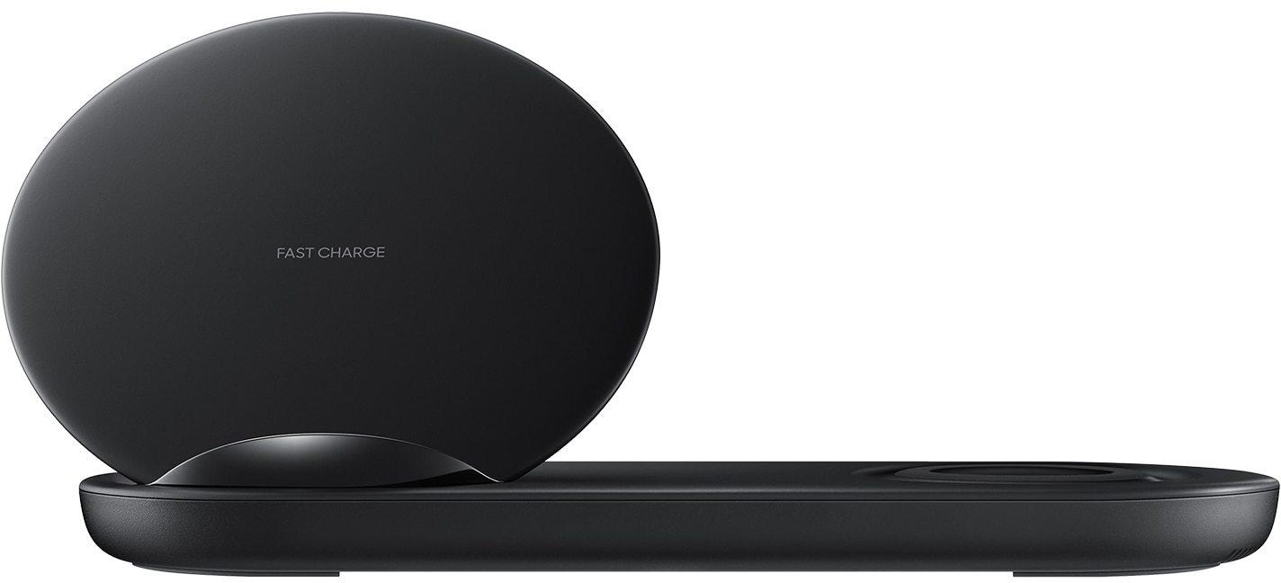 Samsung Wireless Charger Duo Zwart Kenmerken Tweakers