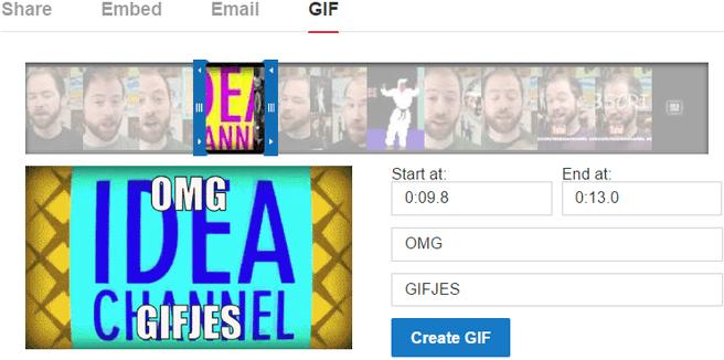 YouTube animated gif