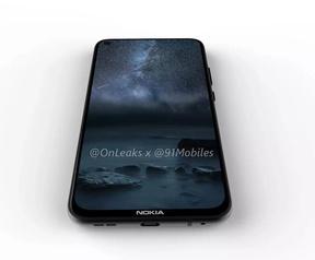 Nokia met gat in scherm