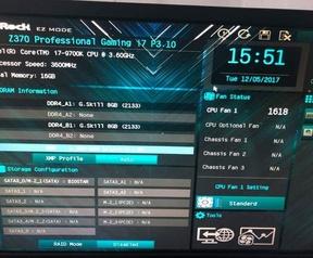 Overklok van Core i7-9700K