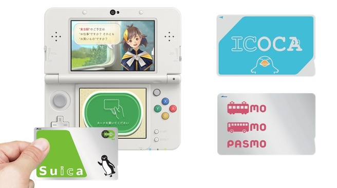 Capcom 3DS-game met OV-chipkaartjes