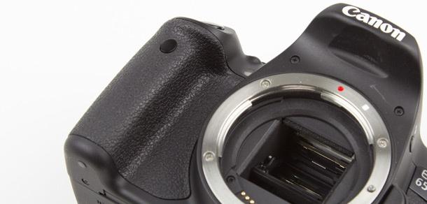 Canon EOS 650D grip voork