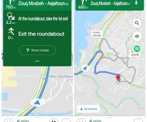 Google Maps Navigatie. Bron: Android Police