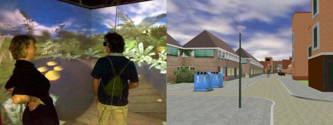 Virtuele vlindertuin