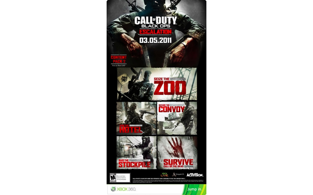 Game-poster Black Ops