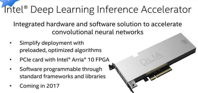 Intel Deep Learning Inference Accelerator SC16