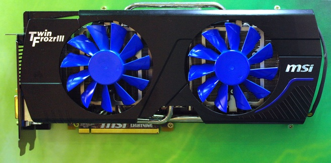 MSI N580GTX Lightning Extreme Edition