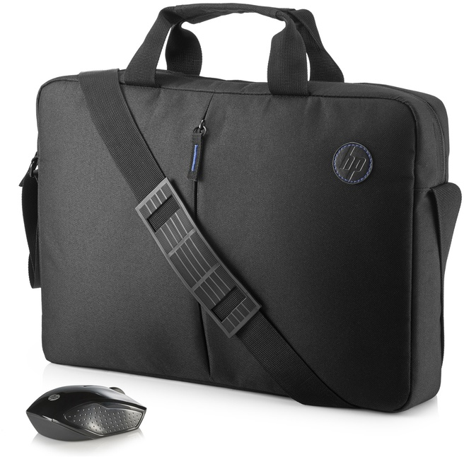 HP Value koffertje en draadloze muis, kit
